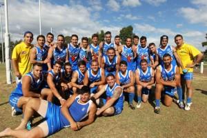 Team Greece AFL footy