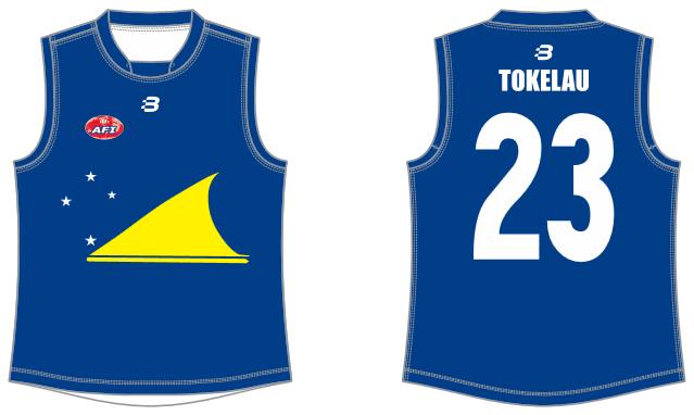 Tokelau footy jumper AFL