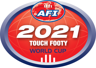 Touch Footy World Cup logo
